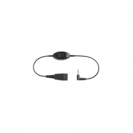 Câble Jabra Gn Netcom pour les téléphones Alcatel série 8 et 9 - jack 3,5 mm