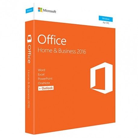 """Microsoft Office Home and Business 2016 pour Windows  """" Anglais """""""