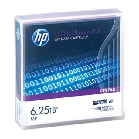 Cartouche de sauvegarde HP LTO-6 Ultrium 6.25TB MP RW