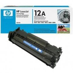 Cartouche d'encre noire HP LaserJet 12A