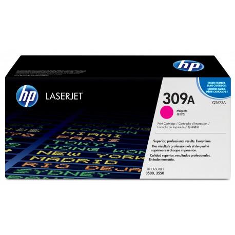 Cartouche de toner magenta HP 309A LaserJet
