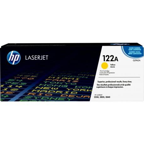 Cartouche d'encre jaune HP LaserJet 122A (toner)