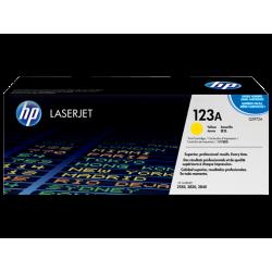 Cartouche d'encre jaune HP LaserJet 123A (toner)