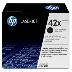 Cartouches d'impression TONER noire HP LaserJet 42X