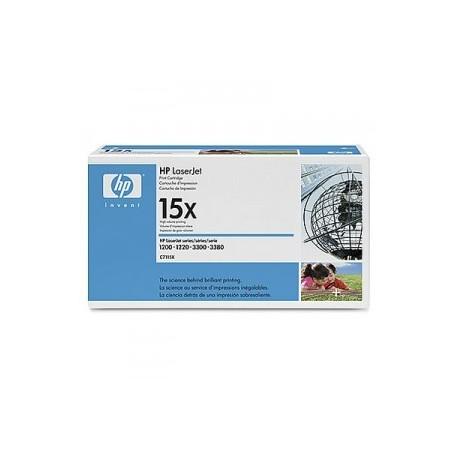 Cartouche d'impression noire HP LaserJet C7115X TONER