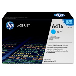 Cartouche d'impression cyan HP LaserJet 641A TONER