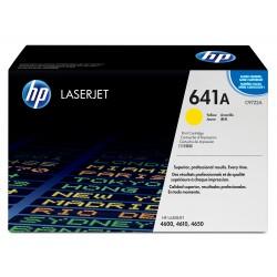 Toner d'impression jaune HP LaserJet 641A (C9722A)