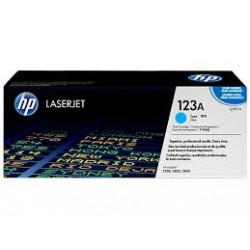 Cartouche d'encre cyan HP LaserJet 123A TONER