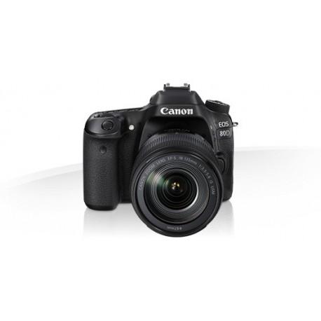 Appareil photo Compact Canon EOS 80D 18-55mm IS