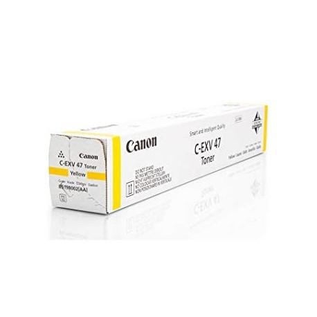Toner Copieur Canon C-EXV 47 Jaune