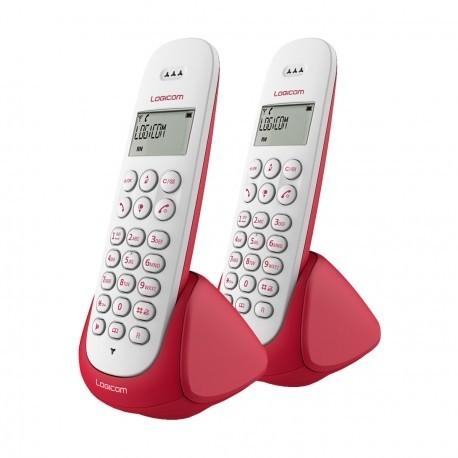Téléphone Logicom AURA 250 - Duo Sans fil avec haut parleur