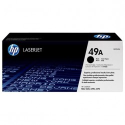 Cartouche d'encre noire originale HP LaserJet 49A