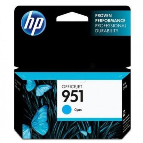 Cartouche d'encre HP 951 cyan authentique