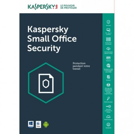 Kaspersky Small Office Security 6.0 - 1 server + 10 POSTES