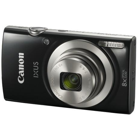 Appareil photo Compact Canon Ixus185 – Noir (1803C001AA)