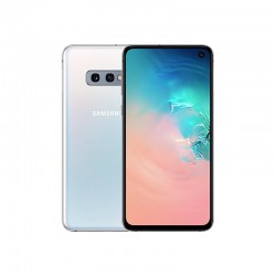 "Smartphone Samsung Galaxy S10e ""Essentiel"" blanc"
