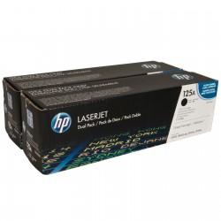 Cartouche Toner HP 125A Noir Dual Pack LaserJet (CB540AD)
