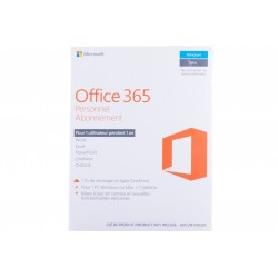 MICROSOFT OffICE 365 Personal French Subscr 1YR Africa Only  (QQ2-00890)