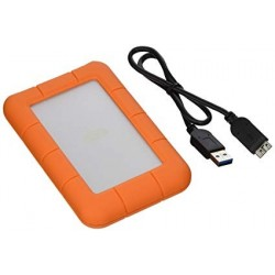 LaCie LAC301558 1TB Rugged Mini Disque dur externe USB 3.0 Modèle Orange