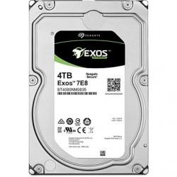 "Disque Dur Interne Seagate Entreprise EXOS 4TB SATA 6GB/S 3,5"" 7200 TPM 128MB"