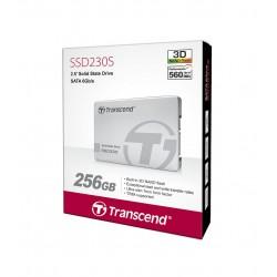 "Disque DUR INTERNE SSD 2.5"" Transcend Interne SATA III 512 GB (Flash TLC) (TS512GSSD230S)"