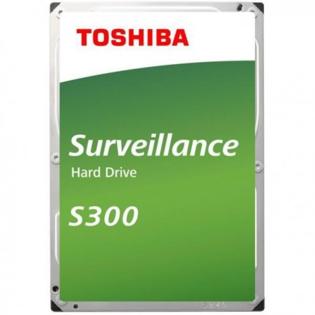 "Disque dur Interne  TOSHIBA - S300 - 4To - 7 200 tr/min - 3.5"" (HDWT140UZSVA)"