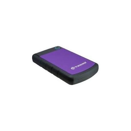 Disque dur USB 3.0 externe Anti-choc portable Transcend Storejet 25H3 - 2TB