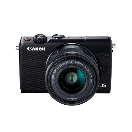 Appareil Photo Compact Canon EOS M100 avec Objectif EF-M 15-45mm (2209C012AA)