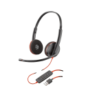 Micro Casque Plantronics BLACKWIRE C3220 USB (209745-101)
