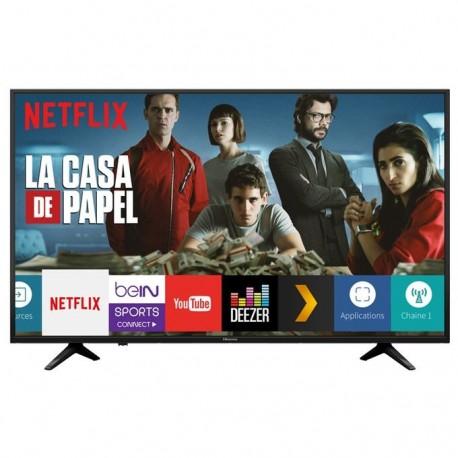 """Hisense Smart TV LED 50"""" Ultra HD 4K Wifi Ethernet LAN RJ45 (H50A6120)"""