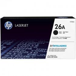 Toner HP 26A Noir LaserJet d'origine - (CF226A)
