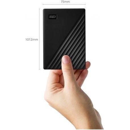 "Western Digital - Disque dur externe 2.5"" My Passport 4 To Noir (USB 3.0) (WDBPKJ0040BBK-WESN)"