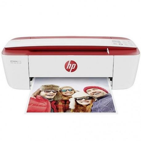 Imprimante DeskJet Ink Advantage LHASSA 3788 Rouge Multi fonction 3 en 1 A4 (T8W49C)