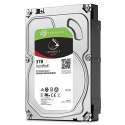 "Disque Dur IronWolf Seagate 3.5"" 3 To SATA III 64 Mo pour NAS (ST3000VN007)"
