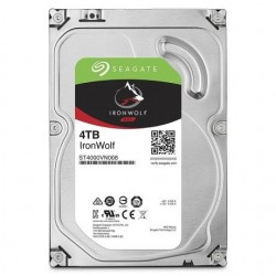 "DISQUE DUR INTERNE -SEAGATE IRONWOLF 4 TB NAS 64 MO 3,5"" (ST4000VN008)"