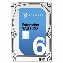 "Disque Dur Interne Seagate NAS 6 To 3,5"" SATA 7200 trs/mn 128 Mo(ST6000VN0001)"