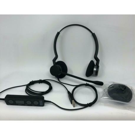 Micro-casque Jabra Biz 2300 Duo - USB (2399-829-109)