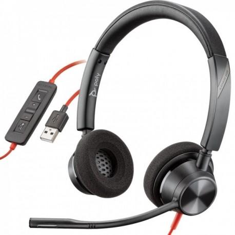 Micro Casque Plantronics Blackwire 3320 USB-A