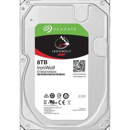 "Disque dur 3.5"" interne Seagate 8 To 7200 RPM 256 Mo Serial ATA 6 Gb/s pour NAS (bulk)"