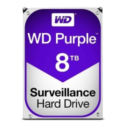 "Disque dur Western Digital Purple Surveillance HDD 8TB 3,5"" SATA 245MB 7200RPM"