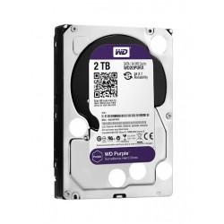 Disque dur Western Digital de surveillance Purple 2 To 5400 RPM Classe SATA 6 Go/s