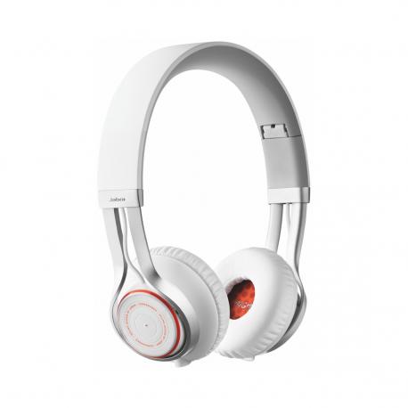 Jabra - Casque stéréo SANS FIL Bluetooth - Blanc