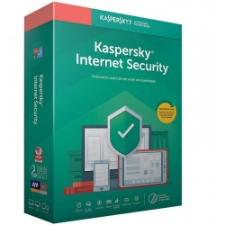 Kaspersky Internet Security 2021 pour 3 postes / Multi-Devices