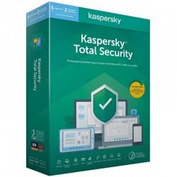 Kaspersky Total Security 2021 - 5 Postes / 1 an (Kaspersky Total Security 2020 - 5 Postes / 1 an (KL19498BEFS-20MAG)