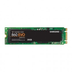 Disque SSD SAMSUNG interne 860 EVO 250 Go M.2 SATA