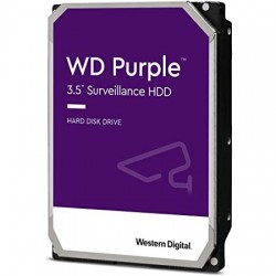 "DISQUE DUR Western Digital 6 TB Purple Surveillance 3.5"" SATA"