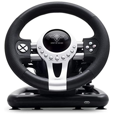Volant de Course Avec Pédales SPIRIT OF GAMER Race Wheel Pro 2