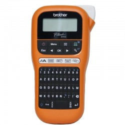 Imprimante opour Etiquettes professionnelle portable Brother PT-E110VP - AZERTY