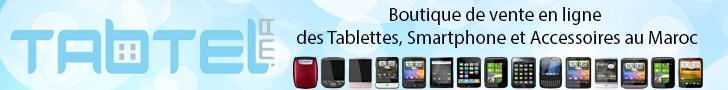 spécialiste de vente en ligne tablettes smartphone et accessoires au maroc